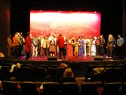 Rehearsing with local Sudanese Choir at Wagga Wagga 28 July 07